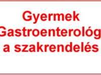 Gyermek Gastroenterológia szakrendelés