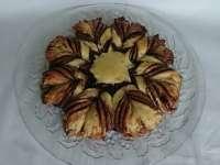 Karácsonyi csillag, sütemény recept képekkel